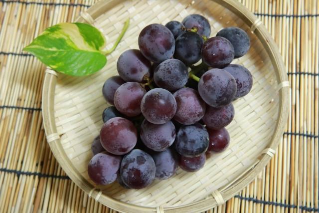 皮も食べられるブドウの農薬が気になる!
